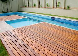 deck para piscina preço