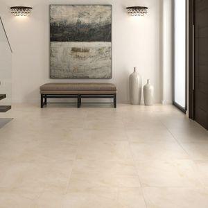 piso cimentício permeável