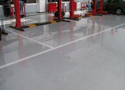 piso antiderrapante área externa