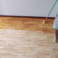 Verniz colorido para piso de madeira