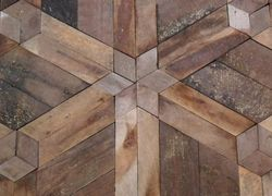 restauração de tacos de madeira