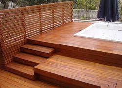 deck de madeira preço por metro