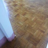 Ancoragem em piso de madeira