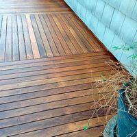 Deck de madeira litoral norte SP